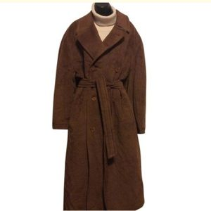 Canali Jackets & Coats - Canali Milano Alpaca Wool Coat
